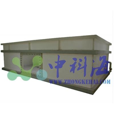 方形白色PP水槽 蓄水池 养殖池 镶嵌观察窗口
